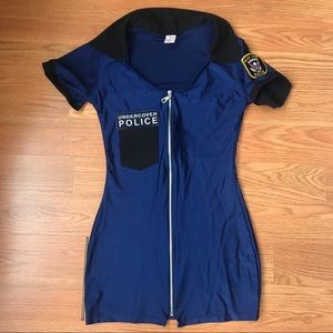 Je Taime woman's police costume dress